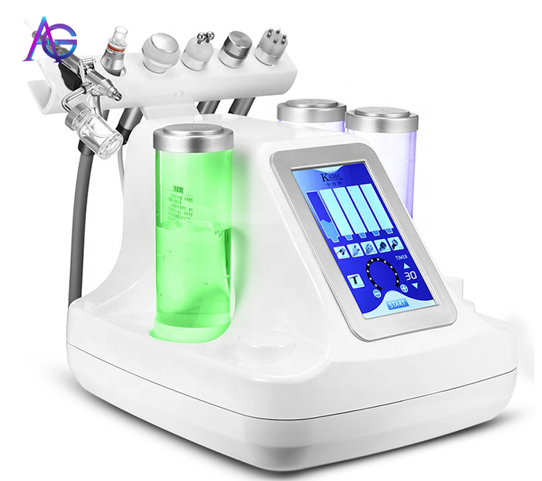 6 IN ONE  Facial Deep Cleaning Skin Care Machine With Feedback For  Skin Rejuvenation  Skin Mouisture  And Facial Clean