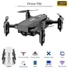 Quadcopter F86-Drone 4k-Camera Toys Aircraft Mini with Gesture Gravity Aerial Photography