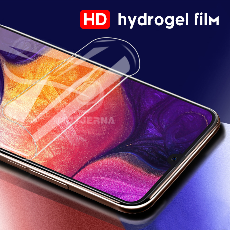 9D Screen Protector Not Glass Film For Samsung A70 A80 A40 A20 A60 A50 A30 A10 Hydrogel Film Protective Cover A 70 A Clean Film