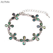 Butterfly love bracelet / Natural abalone shells  colorful jewelry