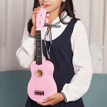 21 inch Ukelele Soprano 4 Strings Hawaiian Spruce Basswood Guitar Musical Instrument Set Kits+Tuner+String+Bag