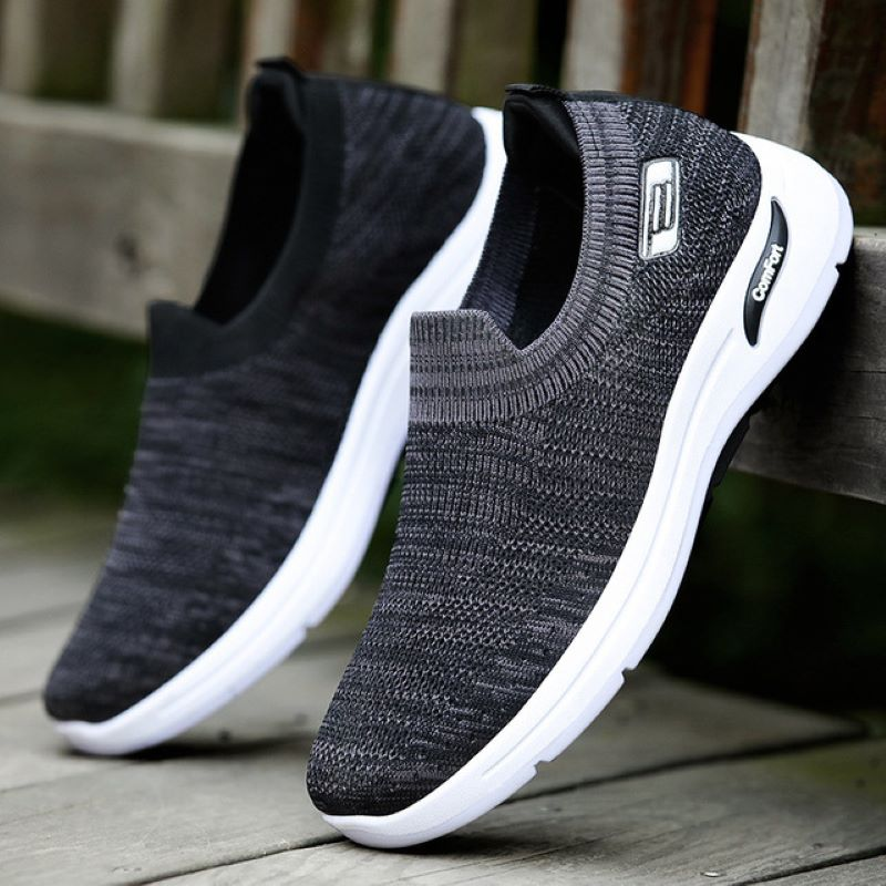 Spring Foreign Trade Men's Peas Shoes cb5feb1b7314637725a2e7: Black|Blue|Gray