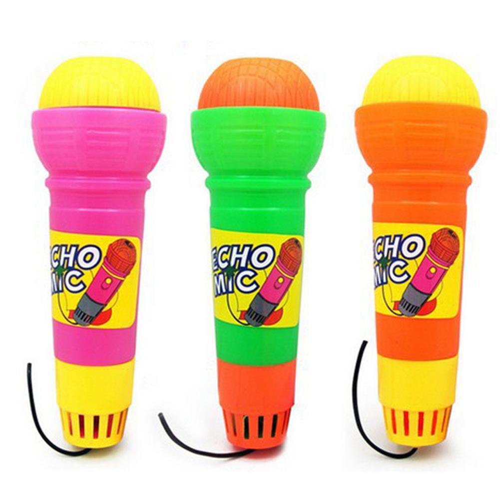 Kids Wireless Echo Microphone Toy Girls Boys Microphone Mic Karaoke Singing Kids Funny Gift Music Toy Random Color