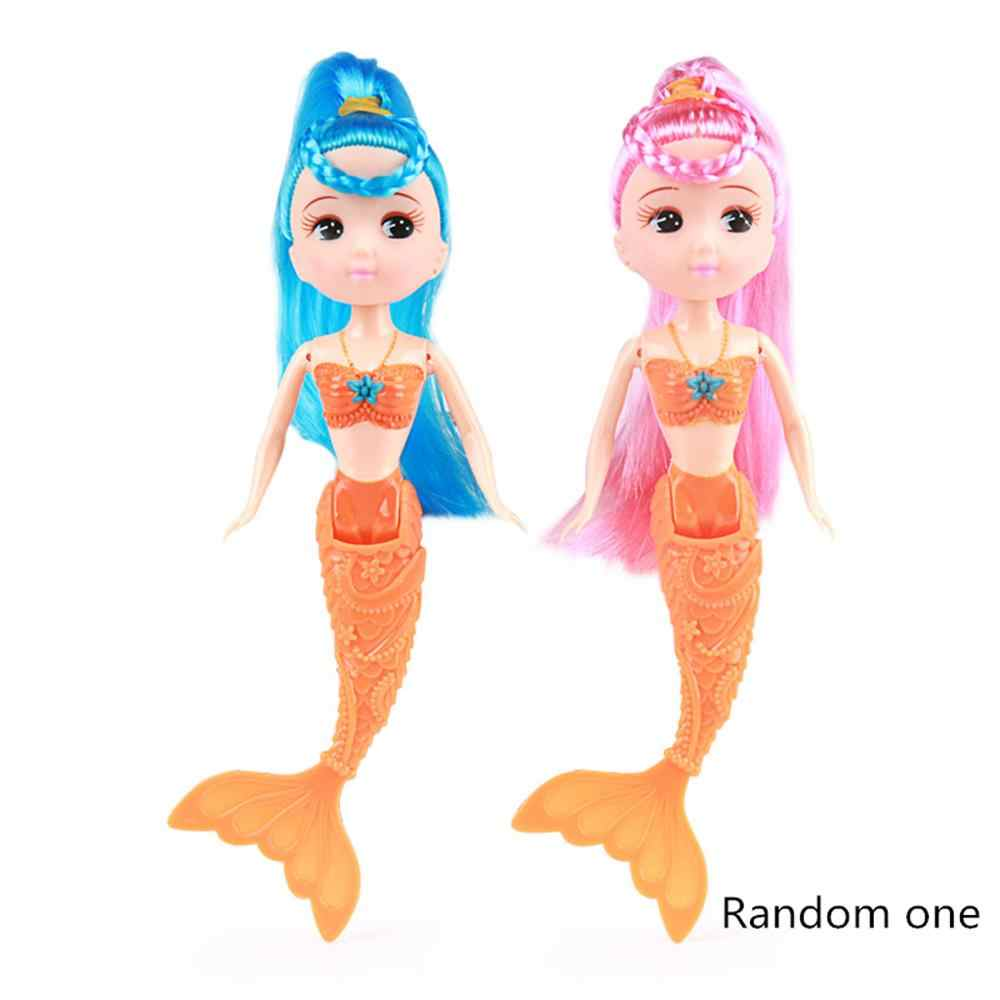 4 Color Waterproof Swimming Doll Bath Toys Dolls Accessories Kids Toys Girl Favors Gifts