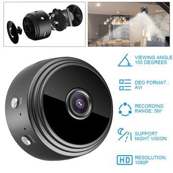 цена на 1080P A9 Mini WIFI Camera Wireless Camera HD Sensor Night Vision Camcorder Motion Sport DV Video Camera Home Security P2P Cam
