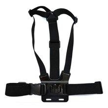 цена на Camera strap Chest Strap Belt Body Tripod Harness Mount For Go Pro SJCAM SJ4000 Camera accessories