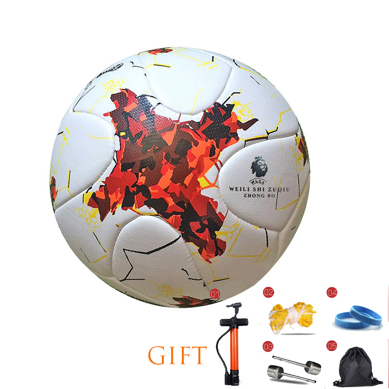 Professional Football Size 4/5 Football Premier PU Seamless Soccer Ball Goal Team Match Training Balls League Futbol Bola