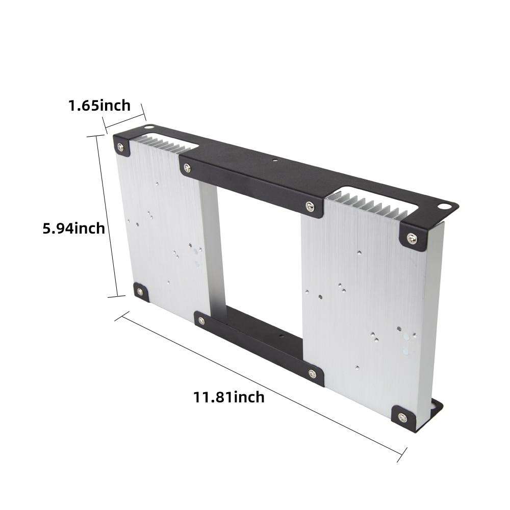 DIY LED Grow Light Frame Aluminum Heatsink Heat Sink Radiator Plant Grow Lamp Framework for CREE CXB3590 Citizen LED Chips