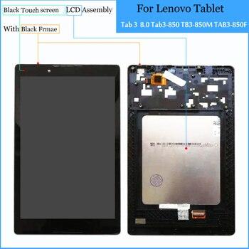 Für Lenovo TB3-850F tb3-850 tb3-850F tb3-850M Tablet PC Touchscreen Digitizer + LCD Display Montage Teile Schwarz 100% Getestet