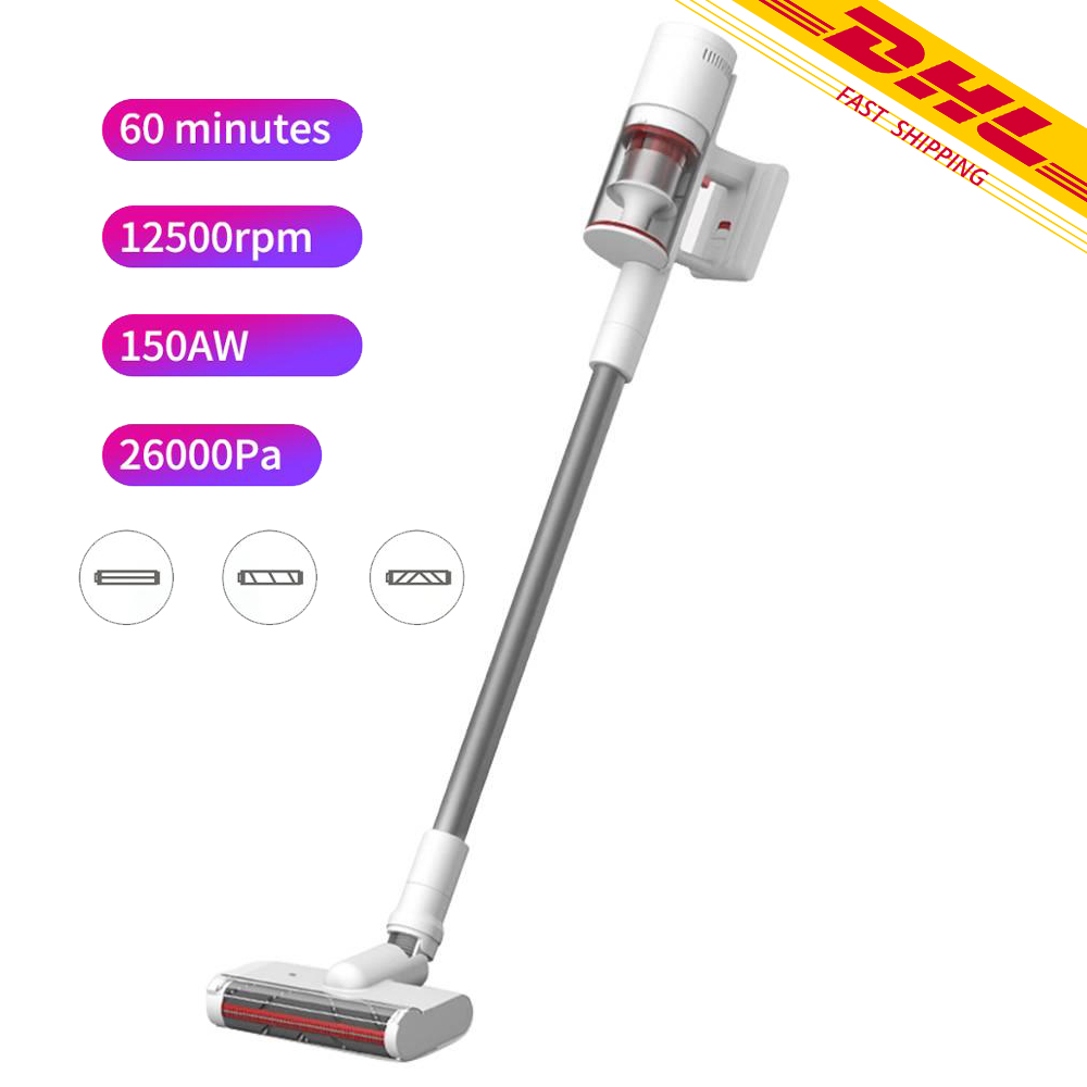 Shunzao Z11 Handheld Cordless Vacuum Cleaner 26000Pa Strong Suction Brushless Motor Deep Mite Removal From Xiaomi Youpin