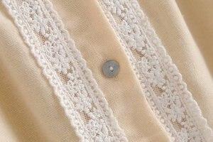 Image 5 - Женская винтажная блузка с кисточками, богемная пляжная блузка с цветочной вышивкой, кимоно с длинным рукавом, свободные рубашки в стиле бохо