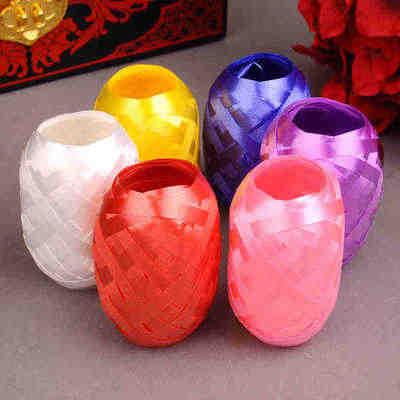 BRIDAY 1/6 Uds. 5mm * 10m globo cuerda de aluminio globo lazo cuerda decoración para fiesta de boda globo embalaje @ 2
