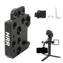 """Monitor Mount Holder for DJI Ronin S/SC/RS2/RSC2 Gimbal Accessories Mounting Plate Extension 1/4"""" and 3/8"""" Thread Hole"""