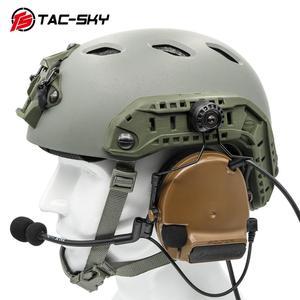 Image 2 - TAC SKY arco capacete ferroviário suporte rápido ops núcleo adaptador ferroviário capacete tático fone de ouvido peltor comtac i ii iii iv suporte tático