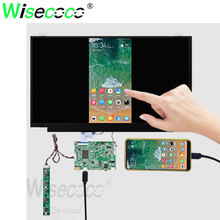 цена на 15.6 inch 1920*1080 FHD touch screen with mini HDMI type-c driver board for laptop support mobile phone mode NV156FHM-T10