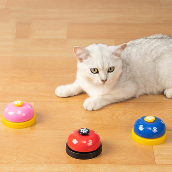Pet Training Supply Dog Call Bell Dog Training Equipment Interactive Bell Eating Food Feeder For Dog Training Communicate Device