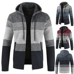 Cotton Wool Liner Zipper Fleece Coats Men 5
