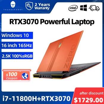 ZERO RTX3070 i7-11800H Gaming Laptop 165Hz 16'' inch 2.5K 16:10 WiFi6 Windows 10 pro Notebook Computer Laptops 2 Years Warranty 1