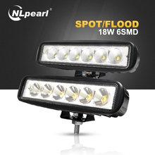 """Nlpearl 2x18 Вт с диаметром 6 """" автомобильный светильник"""