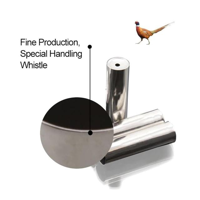 Waterfool Duck Call Hunting Whistle Outdoor Hunting Whistle Duck Pheasant Mallard Wild Bird Goose Caller Voice Hunting Lure Whis 4