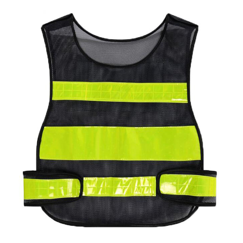 High Visibility Night Work Security Traffic Or Cycling Safety Reflective Vest