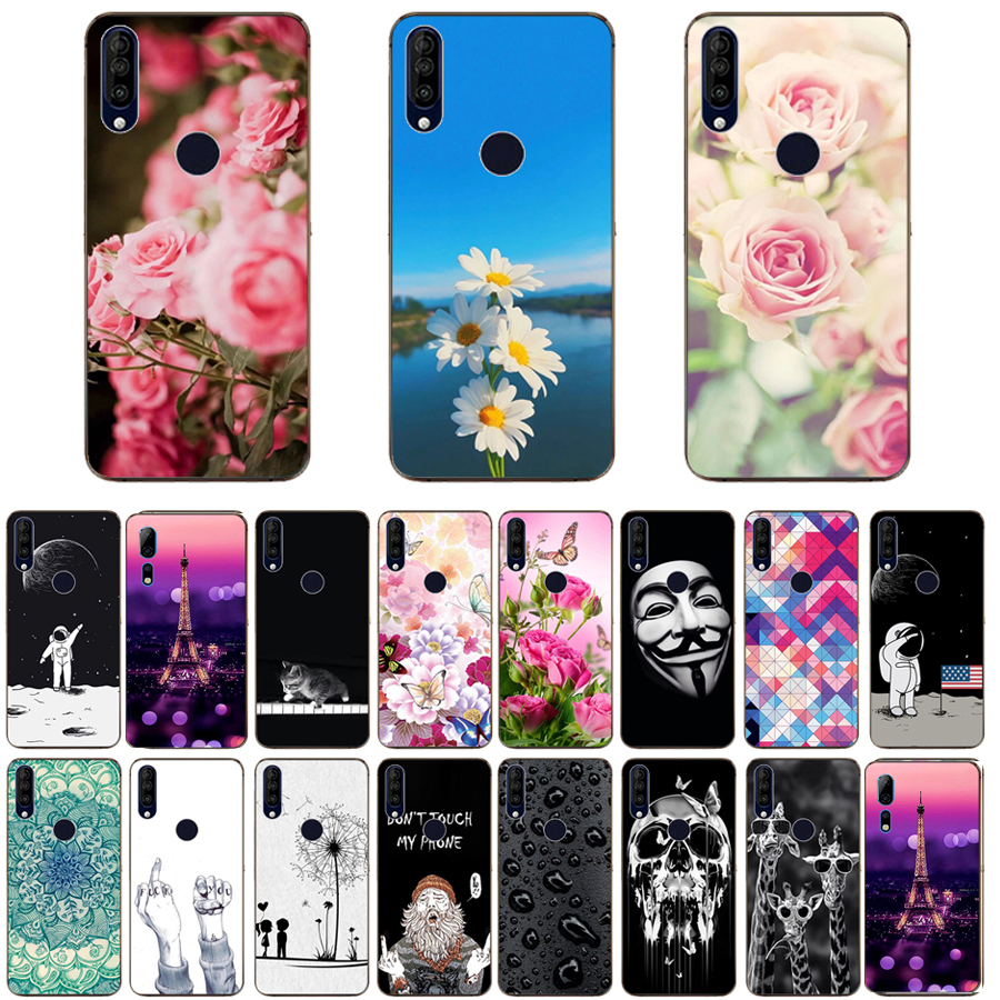 For Wiko View 3 Case Luxury TPU Silicone Cases for Wiko View 3 Pro Phone Back Cover for Wiko View3 Lite Funda Coque-in Fitted Cases from Cellphones & Telecommunications