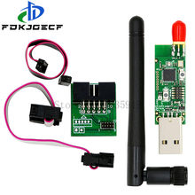 CC2531 CC2540 + антенна BLE 4,0 Zigbee Sniffer, беспроводная плата, модуль захвата ключа, USB программатор, кабель для загрузки, соединитель