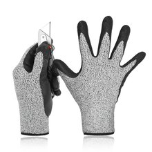 Перчатки с защитой от порезов уровня 5 3d комфортная растягивающаяся