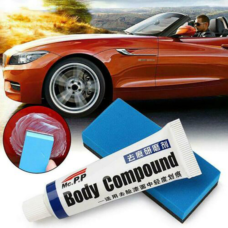 Miracle Car Scratch Removal Kit Cream Automobiles Repair Paint Polishing