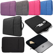 Anti-fall Laptop Sleeve Bag Notebook Case for Dell Alienware/Chromebook/Inspiron 11/13/14 Computer Fabric Sleeve Cover Bag