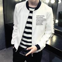 AXSM15 Fashion Slim Bomber Jacket Male Overcoat Men Baseball Jacket Spring Autumn Casual Solid Outwear Tops Clothing