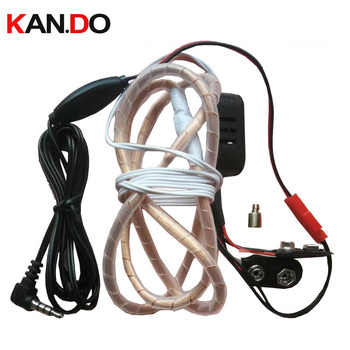 induction earphone listening aids voice transmision sender inductive transmitter 337 battery