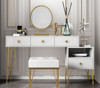 Northern Europe light luxury style dressing table bedroom modern simple dressing table small family European style dressing tabl northern europe light luxury style dressing table bedroom modern simple dressing table small family european style dressing tabl