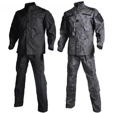 Military  Army Combat Uniform Shirt + Pants Outdoor Airsoft Paintball Multicam Tactical Ghillie Suit Camouflage Hunting Clothes