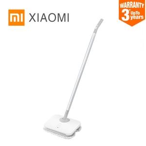 Image 1 - חדש XIAOMI MIJIA WXCDJ01SWDK חשמלי לשטוף כף יד אלחוטי מגב רצפת חלון מנקי רטוב מטאטא שואב אבק מכונה