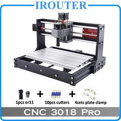 CNC3018 withER11, diy мини ЧПУ гравировальный станок, лазерная гравировка, Pcb ПВХ фрезерный станок, деревянный маршрутизатор, ЧПУ 3018, лучшие