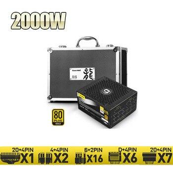 Bitcoin Miner PSU 2000W Great Wall GW-EPS2000BL BTC ETH LTC XMR Mining Rig Server Power Supply For RTX 3060ti 3070 8 GPU Card 1