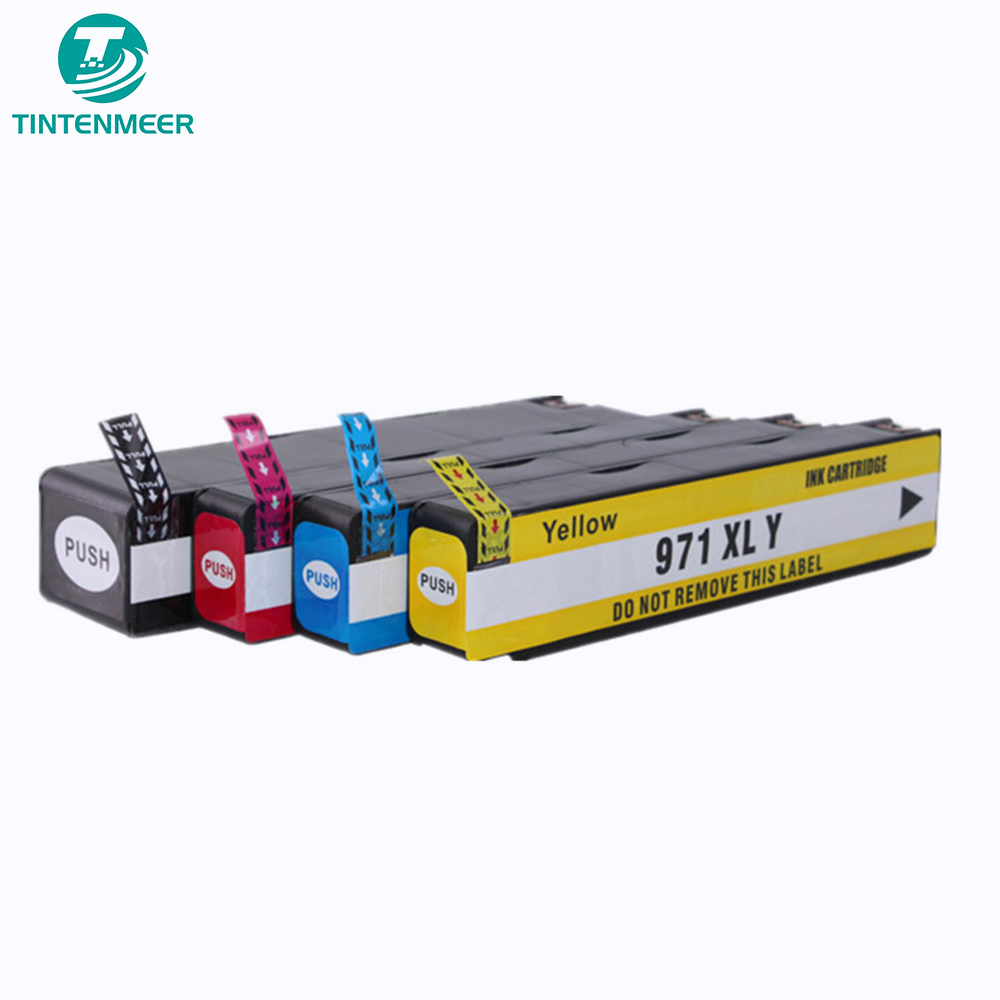 TINTENMEER High quality replacement dye ink cartridge compatible for hp 970 971 xl officejet 451dn 451dw 551dw 476dn 476dw 576dw|Ink Cartridges| |  - title=