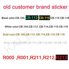 3D Nail Art Decals Black White Silver Stickers Manicure Brand Nail Sticker Self-adhesive DIY Decals Gold Nail Art Stickers Decal 1x nail art water stickers nail decals stickers water transfers decal black white red rose yu32