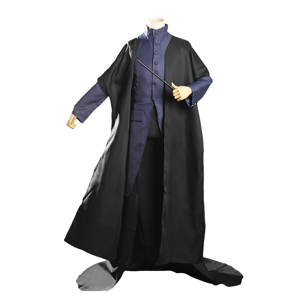 Harry Potter Principal Magician Albus Dumbledore Hallwoon Cosplay Costume