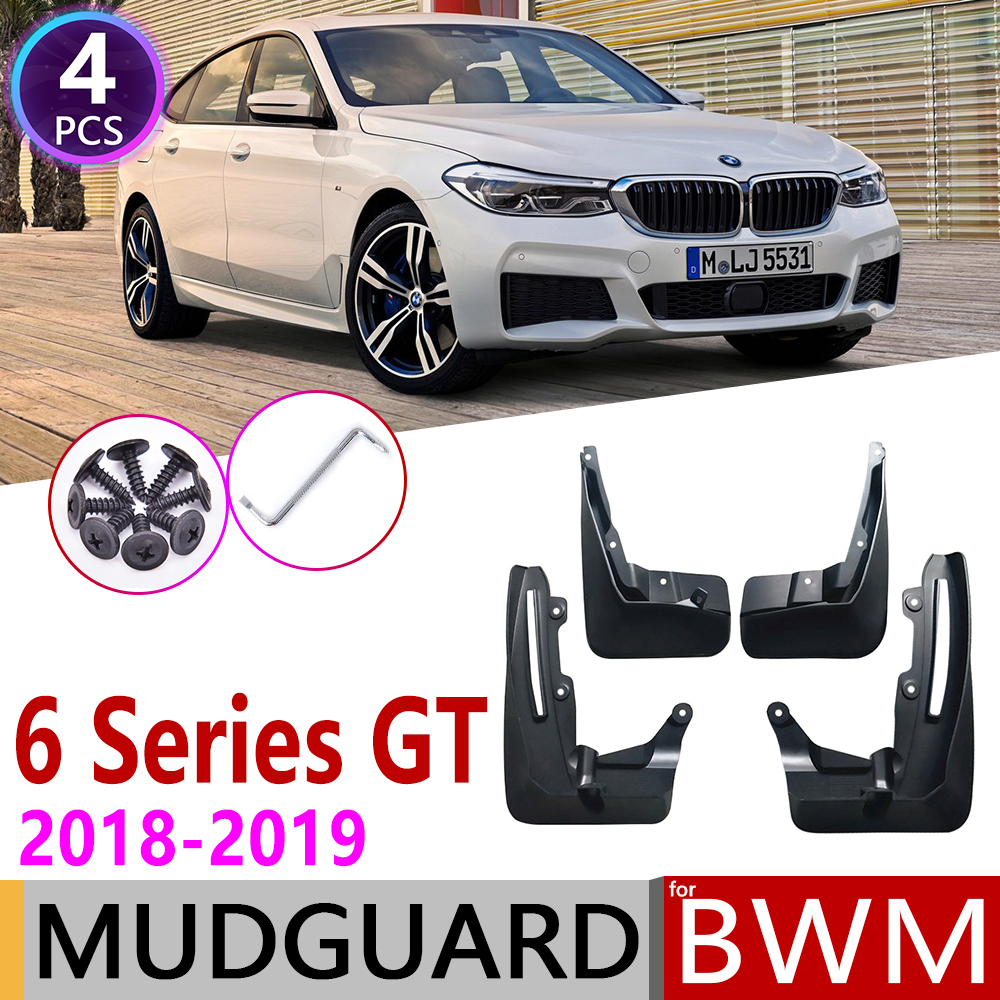 For BMW 6 Series Gran Turismo GT G32 2018~2019 Mudguard Fender Mud Guard Flaps Splash Flap Mudguards Accessories 630i 640i 620d1