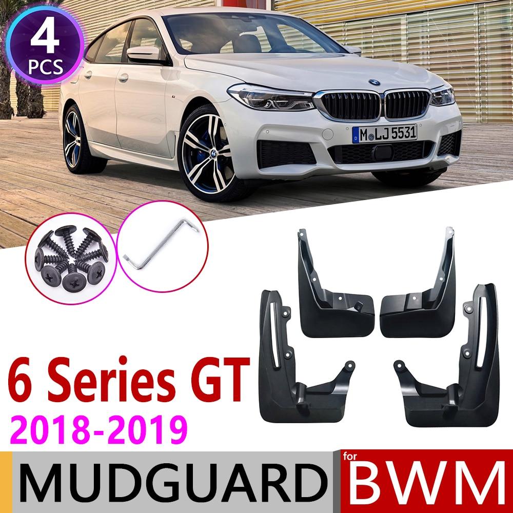 Для BMW серий 6 Гран Туризмо GT G32 2018 ~ 2019 крыло брызговики Всплеск клапаном аксессуары для брызговиков 630i 640i 620d1