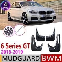 For BMW 6 Series Gran Turismo GT G32 2018~2019 Mudguard Fender Mud Guard Flaps Splash Flap Mudguards Accessories 630i 640i 620d1