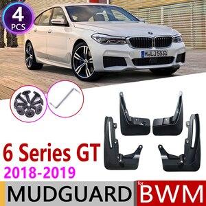 Image 1 - Guardabarros para BMW Serie 6 Gran Turismo GT G32 2018 ~ 2019, guardabarros, guardabarros, accesorios guardabarros 630i 640i 620d1