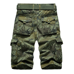 Image 3 - New Cargo Shorts Men Top Design Camouflage Military Army Khaki Shorts Homme Summer Outwear Hip Hop Casual Cargo Camo Men Shorts