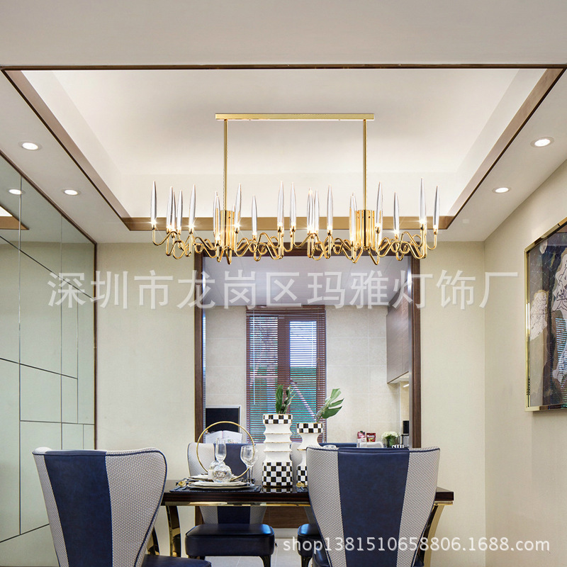 Post-modern Nordic Herringbone Contemporary Pendant Light Living Room Dining Room Dimmable G9 Bulb Hanging Lamps Led Luminaria