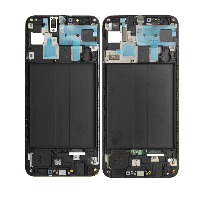 For Samsung Galaxy A10 A20 A30 A40 A50 A60 A70 Original Phone Housing Middle Frame LCD Bezel Plate Panel Chassis Replacement