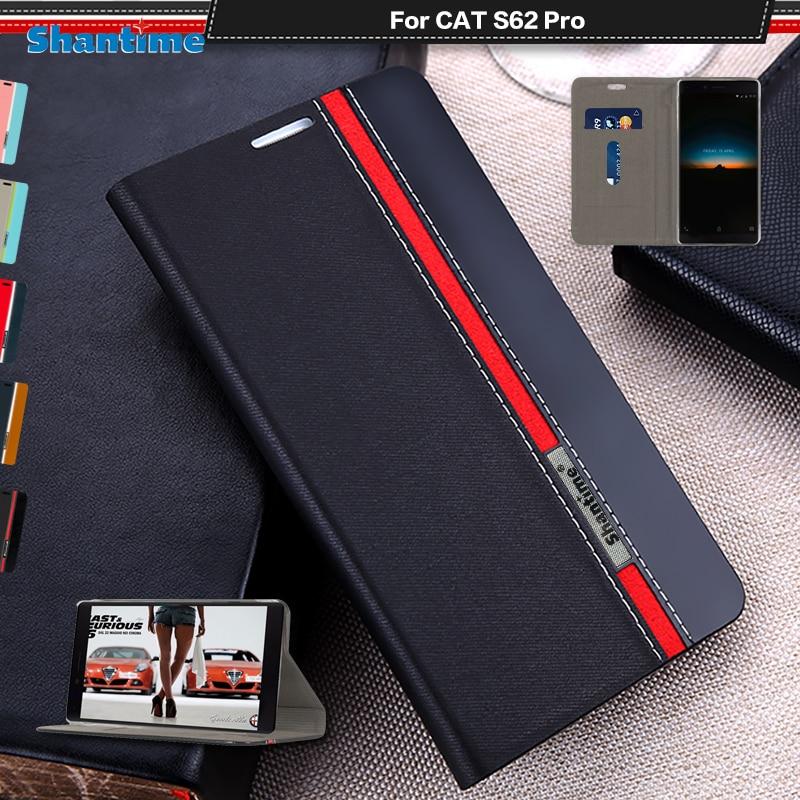 Роскошный чехол из искусственной кожи чехол для собаки кошки S62 Pro флип чехол для собаки кошки S62 Pro Чехол для Телефона Чехол чехол-накладка н...