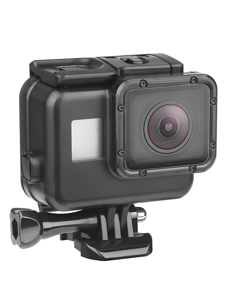 SHOOT 45m Underwater Waterproof Case for GoPro Hero 7 6 5 Black Diving Protective Cover