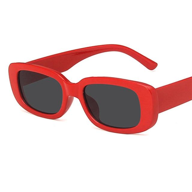 Luxury Brand Travel Small Rectangle Sun Glasses  5